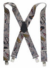 "Heavy Duty 2"" Work Suspenders Hand Tools on Concrete Full Elastic Choose Size"