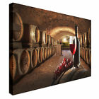 Red wine Cellar Canvas wall Art prints high quality great value