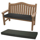 Outdoor Waterproof Fabric 3 Seater Bench Pad Garden Furniture Swing Seat Cushion
