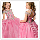 Flower Girl Dresses for Wedding Birthday Christmas Princess Prom Pageant Party