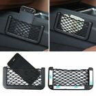 Car Net Bag Seat Side Pocket Nylon Phone Storage Pouch Card Holder for iPhone 5s