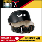"VALEO 6"" LEATHER LIFTING BELT - SMALL BODYBUILDING WEIGHT BODY BUILDING COW HIDE image"