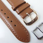 HQ 20MM BROWN ITALY LAMBSKIN WATCH BAND 20/16 MM LAMB SMOOTH STRAP w/16MM CLASP