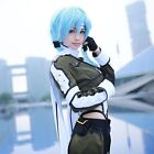 Cosplay GGO Sword Art Online Sinon Military Asada Shino Costume Free shipping