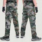 Men Summer jungle camouflage pants Tactical pants Army pants Work casual pants