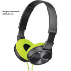 NEW Sony MDR-ZX310 Stereo / Monitor Over-Head Headphones with Mic / Remote