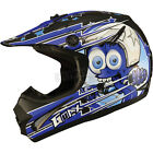 GMax Youth Black/Blue GM46.2 Superstar Helmet ( Kids M / Medium ) - 72-6693YM