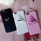 """3D Diamonds Big Eye Hard Fashion Phone Case Cover For iPhone 6S 6 Plus 4.7"""" 5.5"""""""