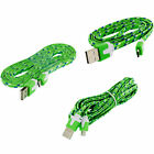 3FT 6FT 10FT Micro USB Data Cable Braided Rope Charger 1m 2m 3m For Cell Phones