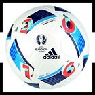 adidas EURO 2016 Match 350 Gramm Junior Weiss Blau