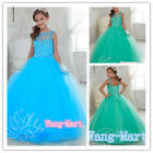 Flower Girl Dresses for Wedding Birthday Princesses Prom Pageant Party Christ
