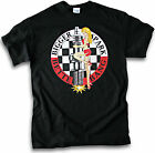 Biker Bigger Spark Better Bang Hot Plug Pin Up Girl V8 Hot Rod Men Black T Shirt
