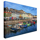 Cobh city in Ireland Canvas Wall Art prints high quality