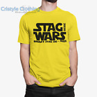STAR WARS INSPIRED Funny Stag Night T-Shirts Add Groom Name, Destination & Year