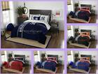 MLB Licensed 7 Piece Full Comforter Shams Sheets Bed Set In A Bag - Choose Team
