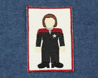 Star Trek Patch- Captain Kathryn Janeway Patch- Minimalist Captain Janeway Patch