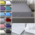 400 THREAD COUNT 100% EGYPTIAN COTTON FITTED SHEET FLAT SHEET SINGLE DOUBLE KING