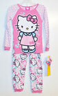Hello Kitty Toddler Girls Long Sleeve Pajamas Sizes 4T or 5T NWT