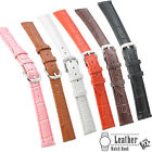 Crocodile Alligator Grain Cow Leather Watch Band Strap for Huawei Smart Watch US