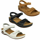 Ladies Down To Earth Leather Sandals UK Sizes 3-8 F10450
