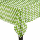 Polyester Chevron Tablecloth Square 45 Inch By Broward Linens (Variety Colors)