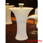 Round Spandex Cocktail Table Cover Cloth Poseur Lycra Table Cover 60cm S/L Size