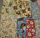 Roy Rogers Dale Evans Happy Trails Western Cowboy Fabric (only light green left)