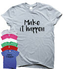Training T shirts motivational top womens mens running tee w