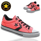 CONVERSE PINK CANVAS LADIES ALL STARS GIRLS CHUCK TAYLOR TRAINERS SHOES SZ 3 4 5