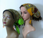 Dashiki Expandable Headband- Fashion Headwear- Cotton Headband- African Headband