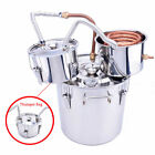 New Alcohol Moonshine Copper Still Water Distiller Stainless Boiler+thumper Keg