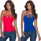 Fashion Women Ladies Sexy Vest Sleeveless O-neck Casual Camisole Tank Tops Gift