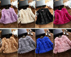 Real Thick Natural Rabbit Fur Short Winter Coat Surcoat For Female Amazing Cheap