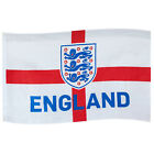 England FA Official Soccer Gift 3 Lions 5x3ft Crest Body Flag