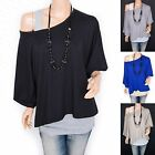 Stylish Contrast 2 Pieces Twinset Short Sleeves Hippie Top Blouse