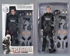 """12""""Soldier SWAT Black Uniform Model Toy Military Army Suit Retail Box Collection"""
