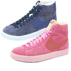 Ladies Nike Blazer Mid Suede Vintage Trainers Hi Top Laced Sports Shoes  Womens
