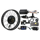 Risunmotor 36V/48v 500W Front Wheel Ebike Conversion Kit Square Wave Controller