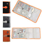 Hit Color MultiFunction Fold Organizer Bag Travel Pouch USB Flash Drive Cable