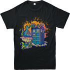 ALICE IN WONDERLAND TOP, DR WHO SPOOF, CATERPILLAR Smoking pipe, Inspired TSHIRT