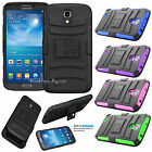 Armor Impact Hard Defender Case Cover w/ Kickstand for Samsung Galaxy Mega 6.3