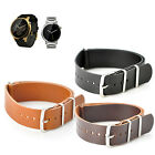 KR-NET MOD Military Leather Watch Strap Band for Moto 360 2nd Gen 2015 Men US