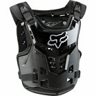 2016 Fox Racing Youth Black Pro Frame Motorcycle Chest Protector Roost Guard Kid