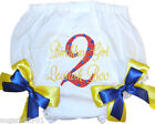 Personalized Diaper Cover Bloomers Primary Colors  2nd Birthday