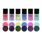 BMC Electric Pastel Creative Art Stamping Polishes - Electro Glo Collection