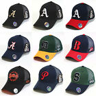 New Mesh Trucker Hats Baseball Caps City Alphabet Embroidered Logo Cool Cap