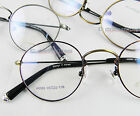 Men women Eyeglass frame 45mm Vintage Round optical metal brown/silver/bronze