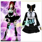 Fairy Tail Erza Scarlet Lolita maid Dress Cosplay Costume Any Size