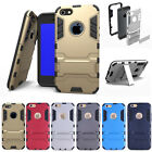 Protective Rugged Dual Layer Defender stand Cover Case For iPhone SE /5S /5