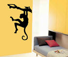 Vinyl Wall Art Decal Safari Monkey on Tree Branch 22x33